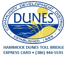 Hammock Dunes Toll Bridge Express Card
