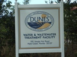 Water & Wastewater Treatment Facility Sign